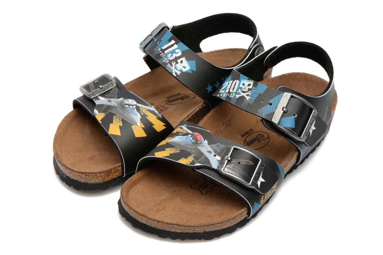 Sandales et nu-pieds Birkenstock NEW YORK Noir vue 3/4
