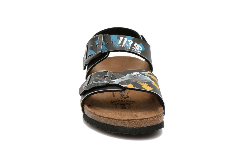 Sandales et nu-pieds Birkenstock NEW YORK Noir vue portées chaussures