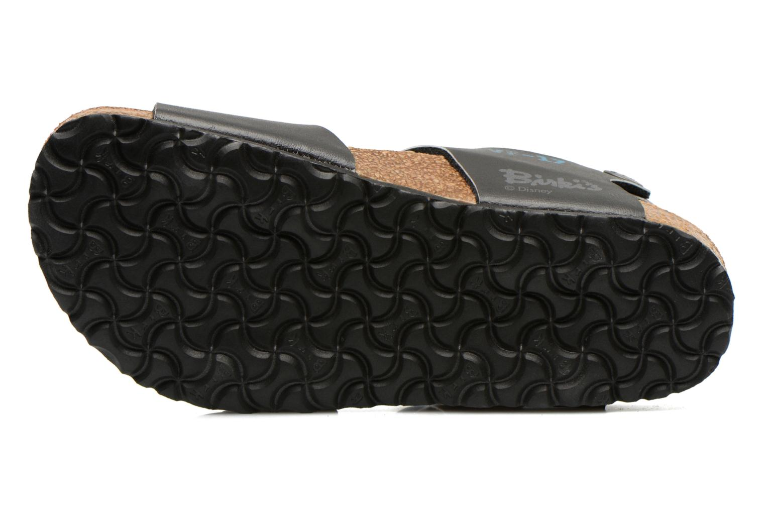 Sandals Birkenstock NEW YORK Black view from above