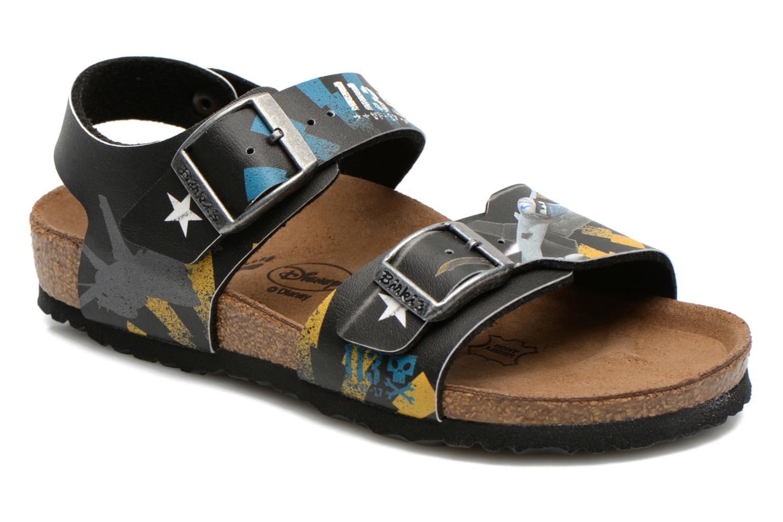 Sandales et nu-pieds Birkenstock NEW YORK Noir vue détail/paire