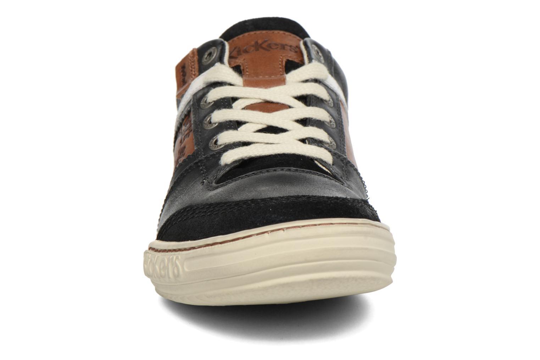 Baskets Kickers Jexplore Noir vue portées chaussures