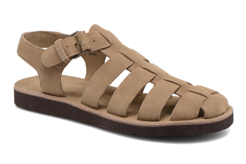 Sandales et nu-pieds Kickers Bresty Beige vue détail/paire