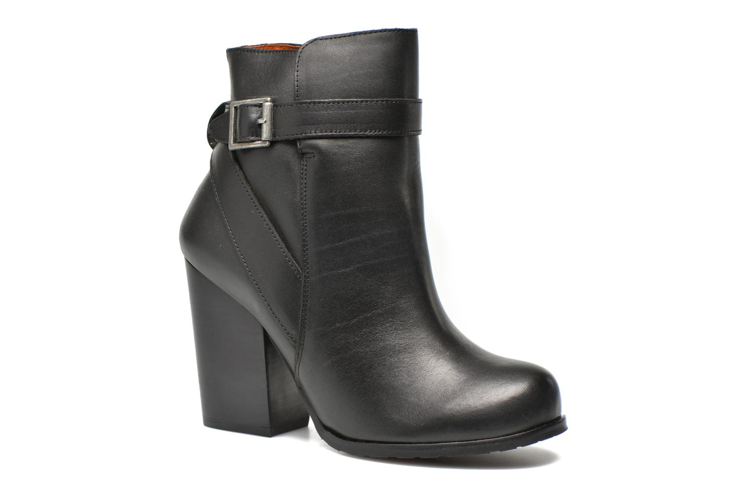 Ankle boots Jonak Lampa Black detailed view/ Pair view