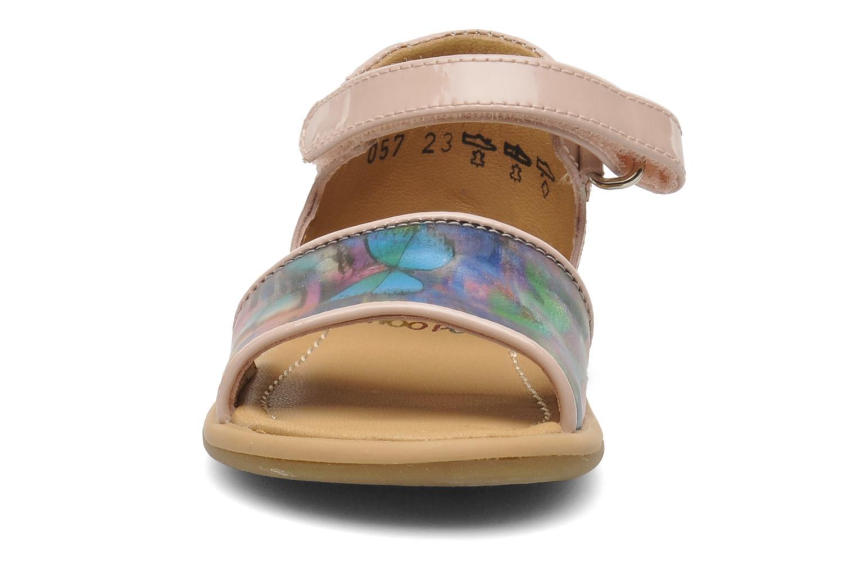 Sandals Shoo Pom Tity Back Sandal Pink model view