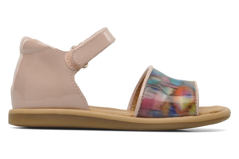 Sandals Shoo Pom Tity Back Sandal Pink back view