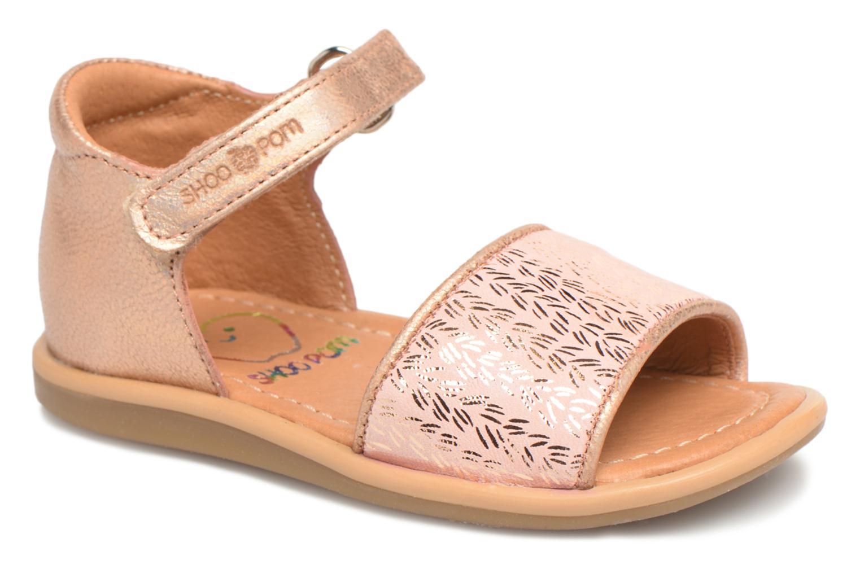 Sandalias Shoo Pom Tity Back Sandal Plateado vista de detalle / par