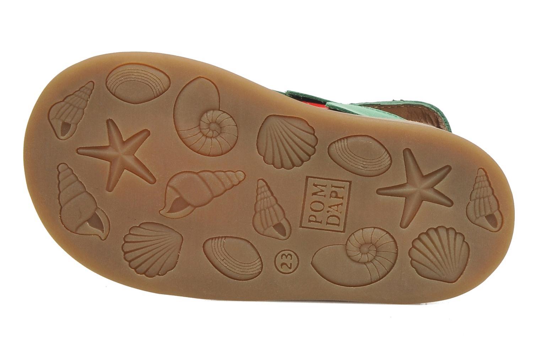 Sandales et nu-pieds Pom d Api POPPY STRAWBERRY Rouge vue haut