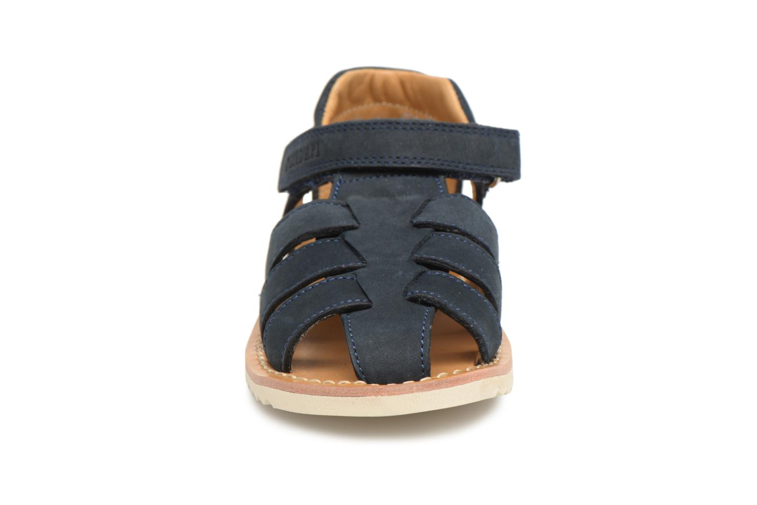 Sandals Pom d Api Waff Papy Blue model view