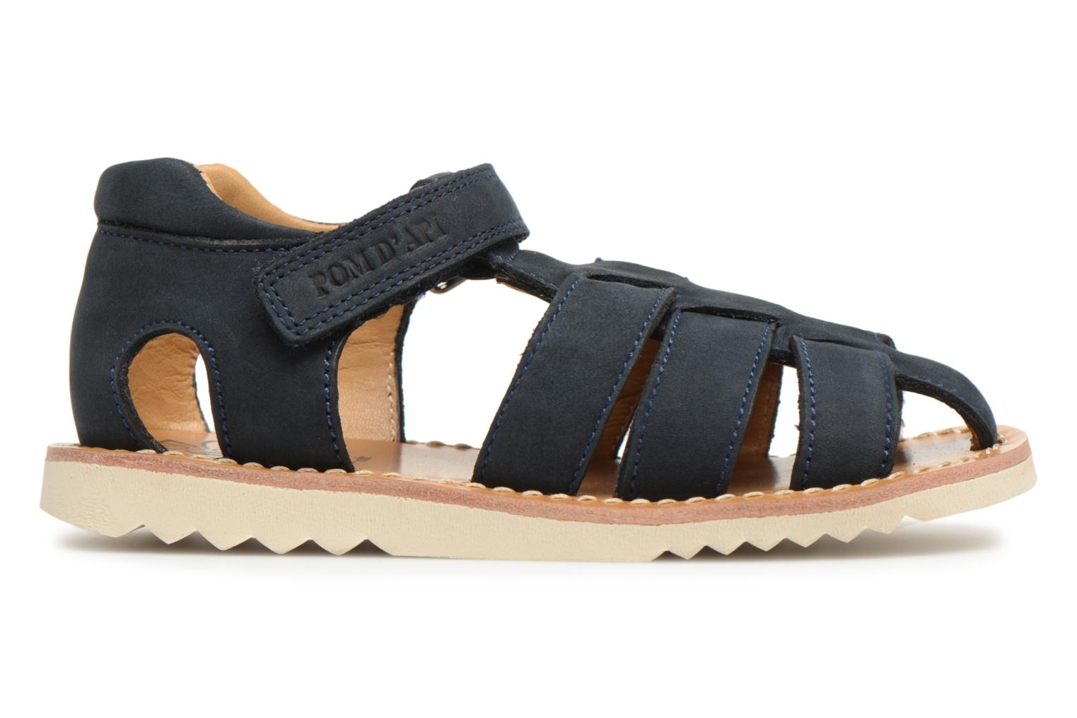 Sandals Pom d Api Waff Papy Blue back view