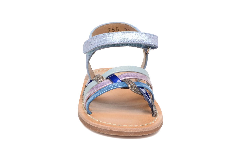Sandals Pom d Api YAPO TRESSE Multicolor model view