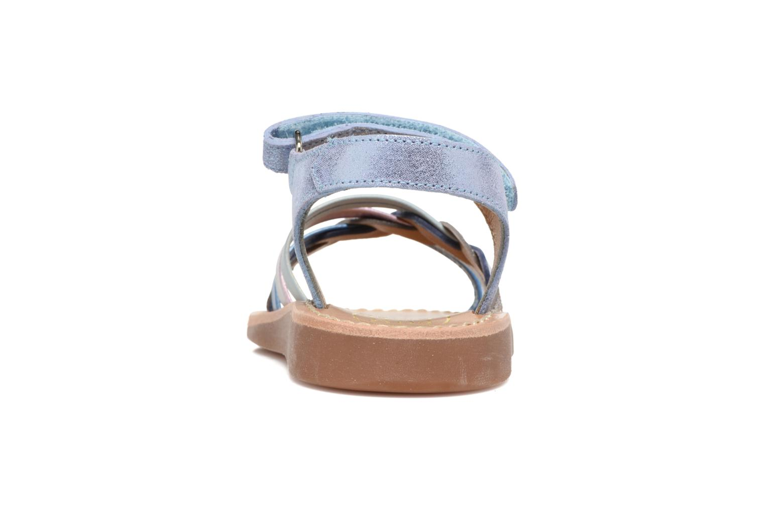 Sandals Pom d Api YAPO TRESSE Multicolor view from the right