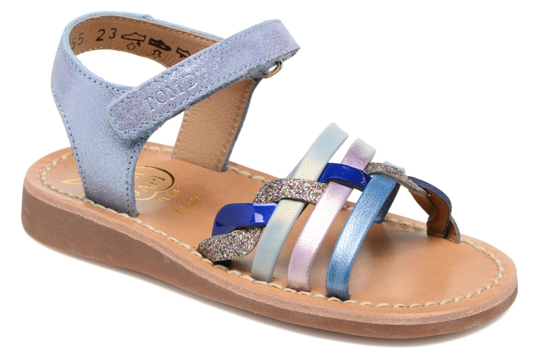Sandaler Pom d Api YAPO TRESSE Multi detaljerad bild på paret