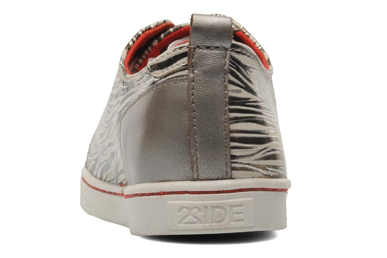 Baskets 2 Side 2S - SWING Beige vue droite