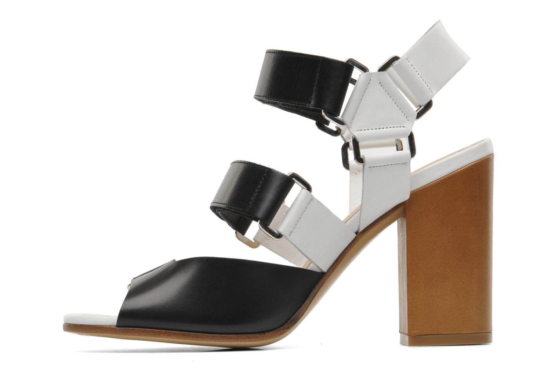 Sandales et nu-pieds Rebecca Balducci Sparta Blanc vue face