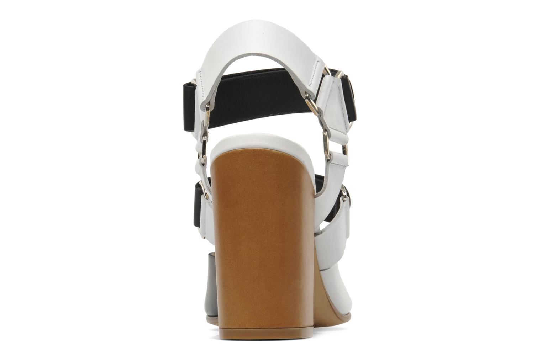 Sandales et nu-pieds Rebecca Balducci Sparta Blanc vue droite