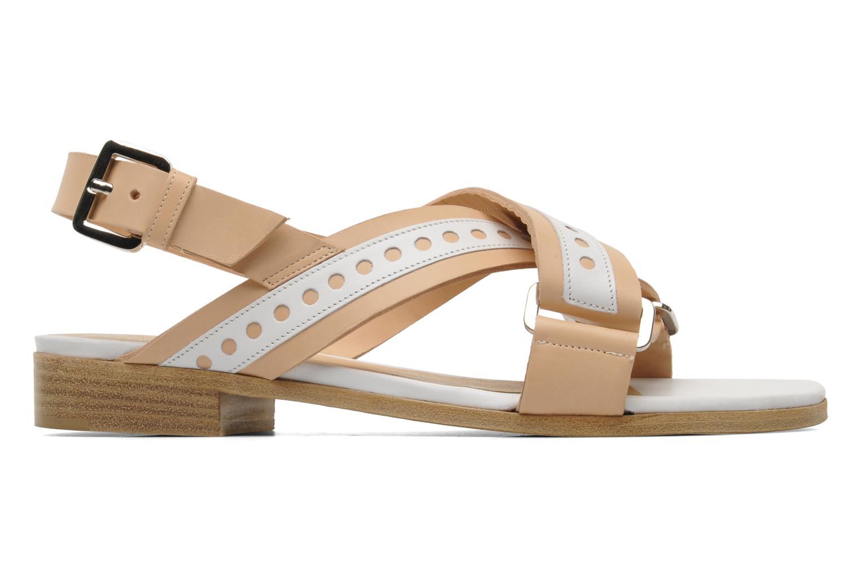 Sandales et nu-pieds Rebecca Balducci Garda Beige vue derrière