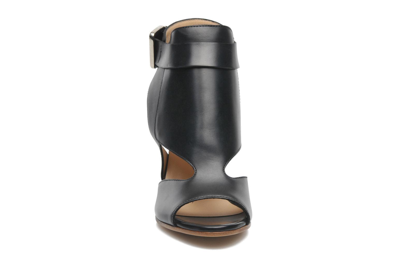 Sandales et nu-pieds Rebecca Balducci Athena Noir vue portées chaussures