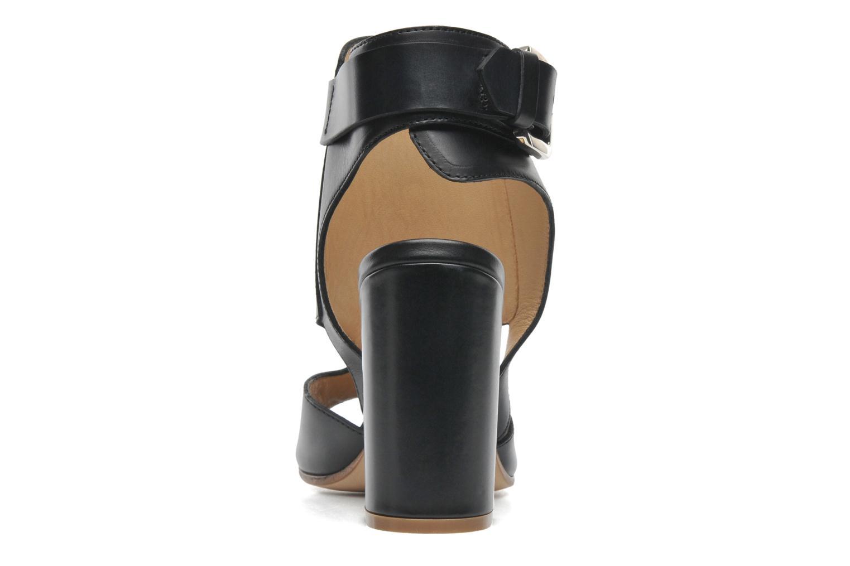 Sandales et nu-pieds Rebecca Balducci Athena Noir vue droite