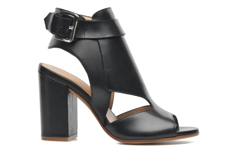 Sandales et nu-pieds Rebecca Balducci Athena Noir vue derrière