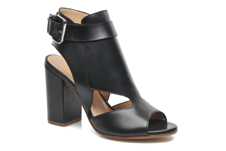 Sandales et nu-pieds Rebecca Balducci Athena Noir vue détail/paire