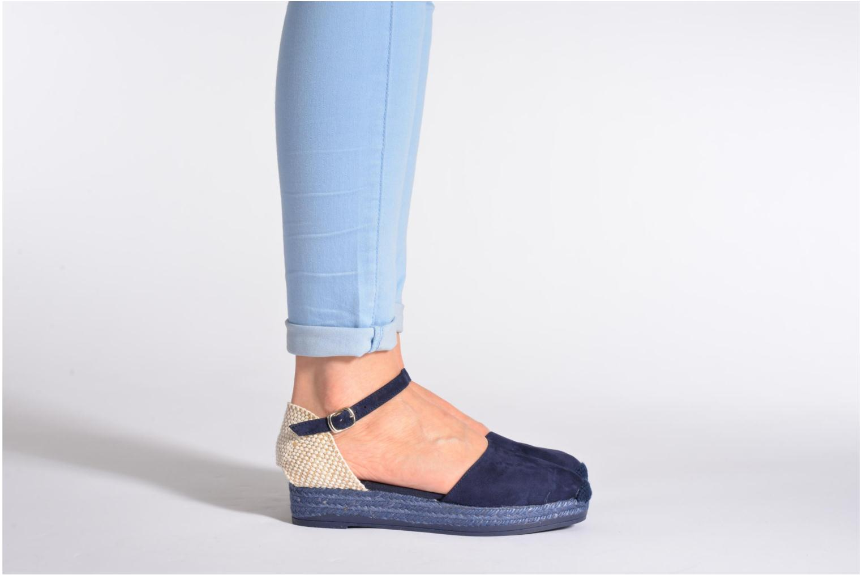 Sandales et nu-pieds Georgia Rose Inan Marron vue bas / vue portée sac