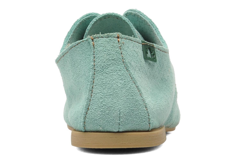 Chaussures à lacets El Naturalista Melisa 182 Vert vue droite