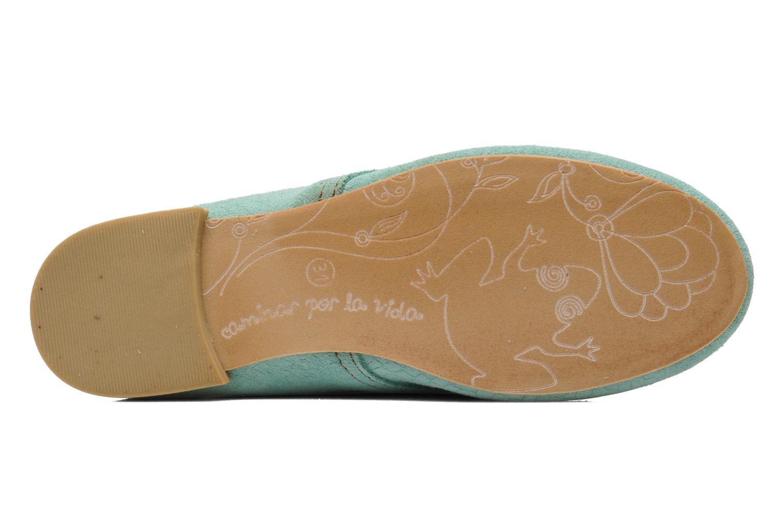 Chaussures à lacets El Naturalista Melisa 182 Vert vue haut