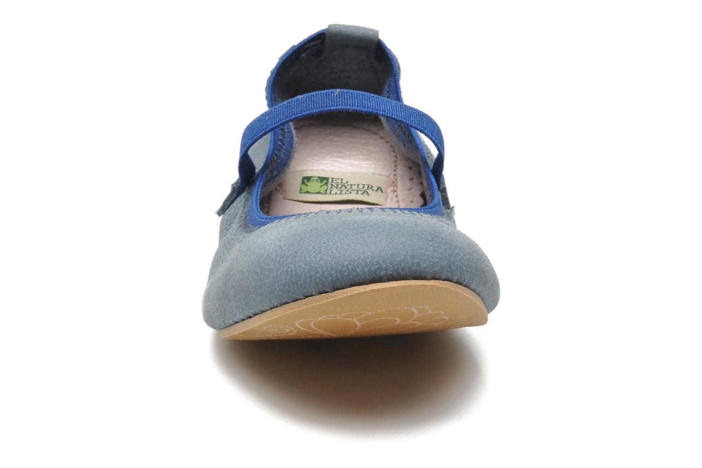Ballerines El Naturalista Melisa 183 Bleu vue portées chaussures