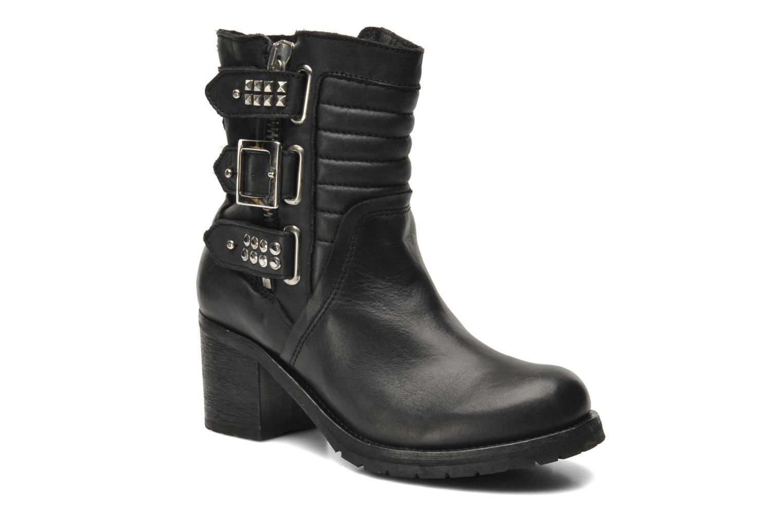 Ankle boots Koah Agnes Black detailed view/ Pair view