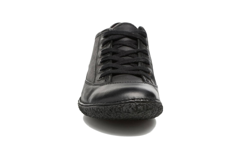 Schnürschuhe Kickers Hollyday schwarz schuhe getragen
