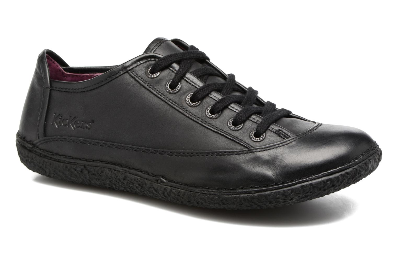 Los zapatos más populares para hombres y mujeres Kickers Hollyday (Negro) - Zapatos con cordones en Más cómodo