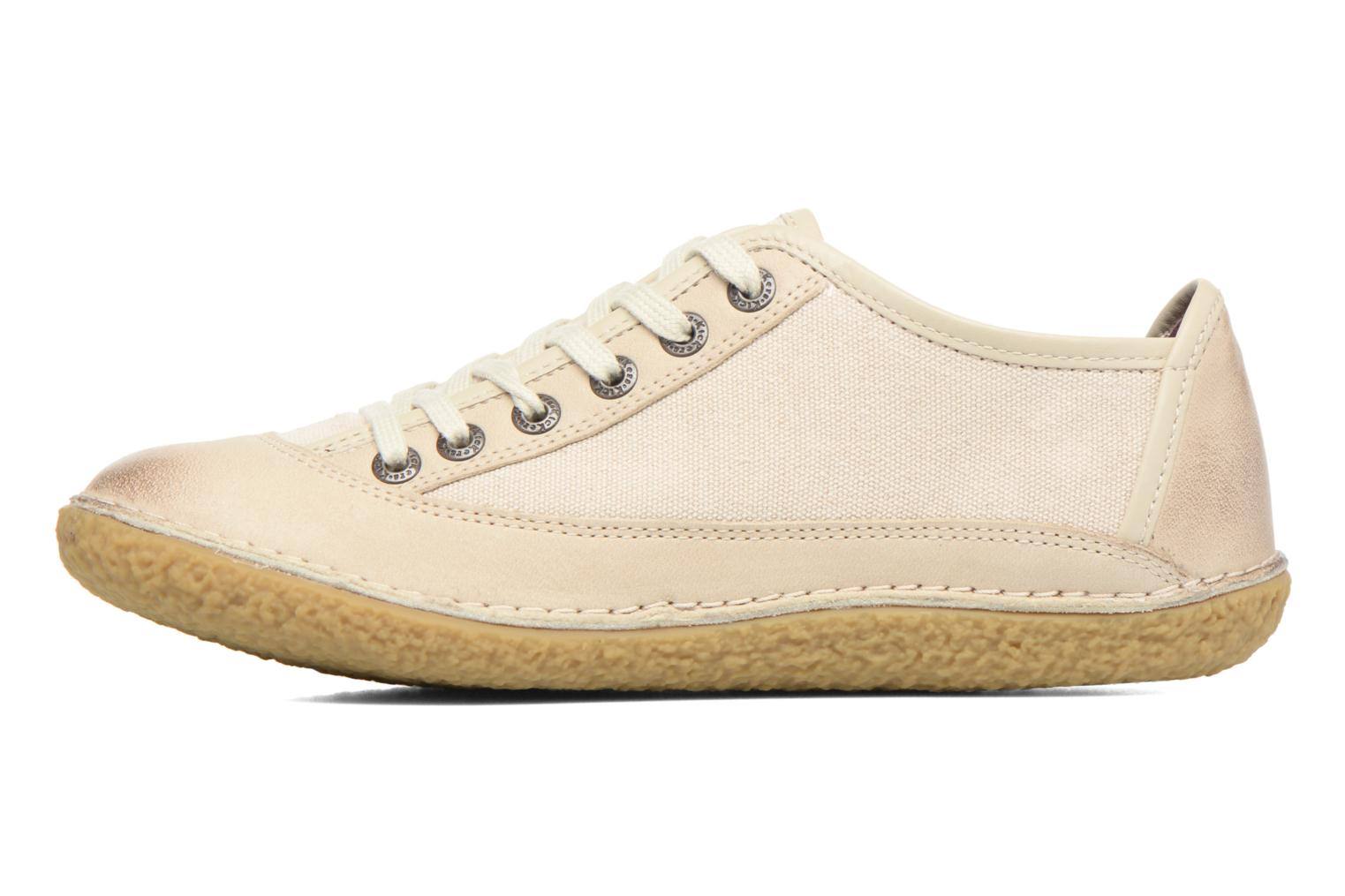 Chaussures à lacets Kickers Hollyday Blanc vue face