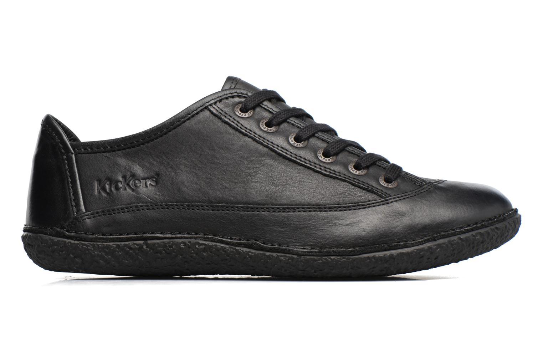 Chaussures à lacets Kickers Hollyday Noir vue derrière