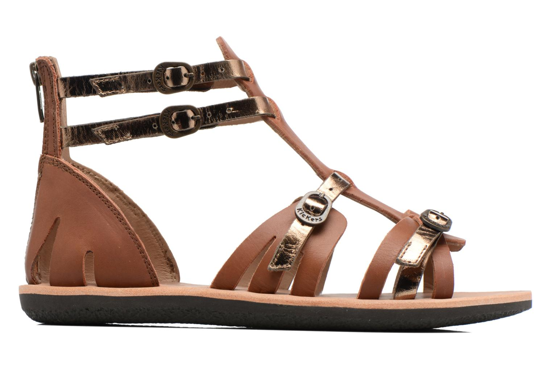 Sandales et nu-pieds Kickers Spartiaten Marron vue derrière