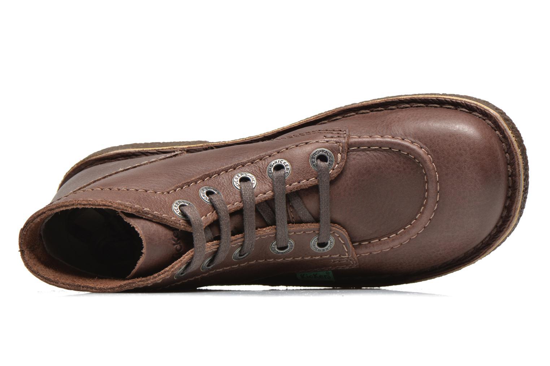 Chaussures à lacets Kickers Legendiknew Marron vue gauche