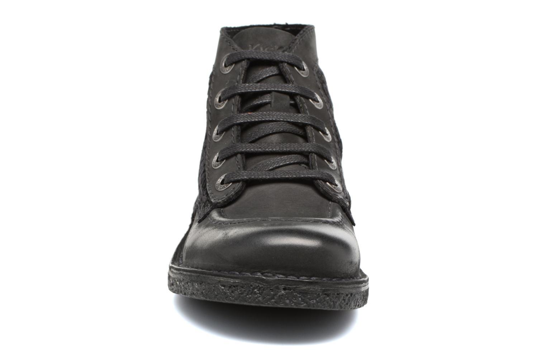 Snøresko Kickers Legendiknew Sort se skoene på