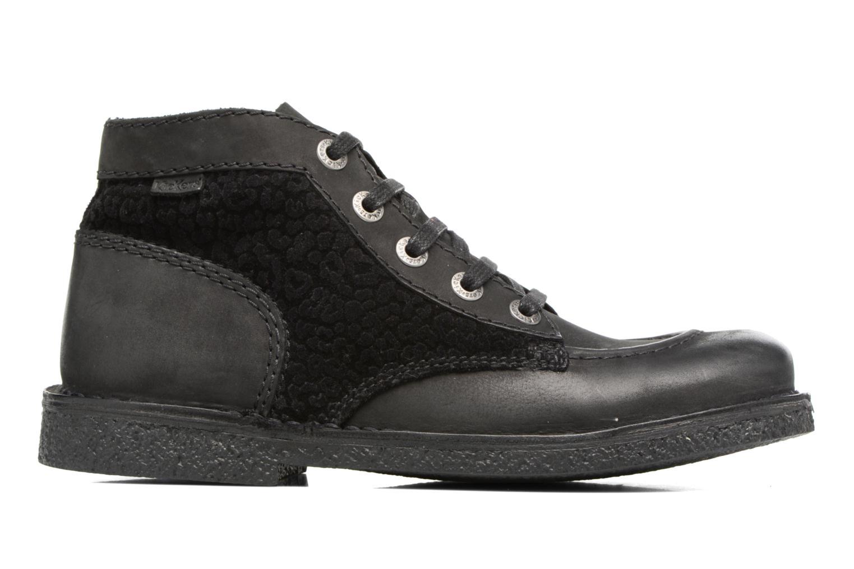 Chaussures à lacets Kickers Legendiknew Noir vue derrière