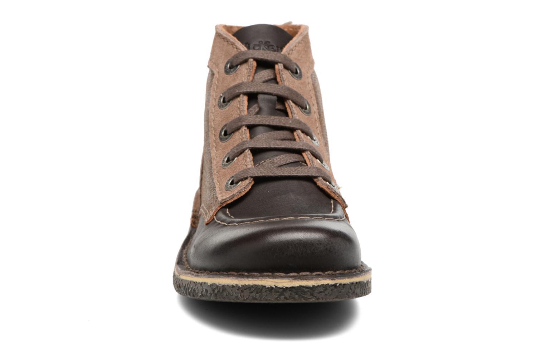 Snøresko Kickers Legendiknew Brun se skoene på