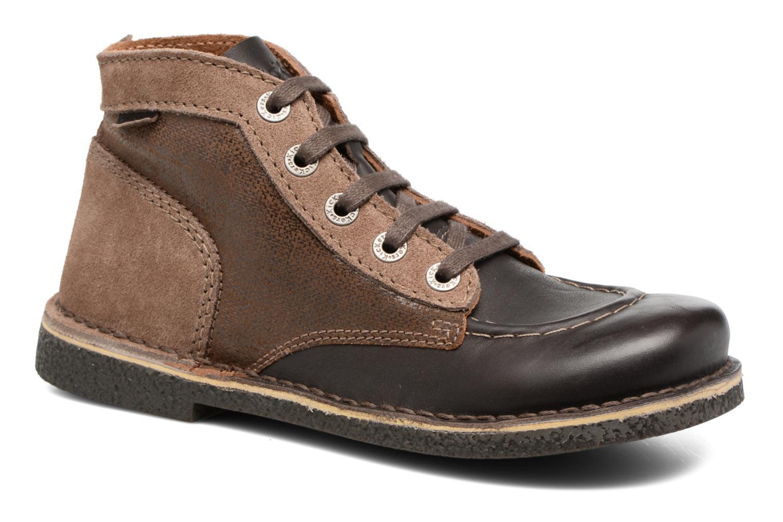 Chaussures à lacets Kickers Legendiknew Marron vue détail/paire