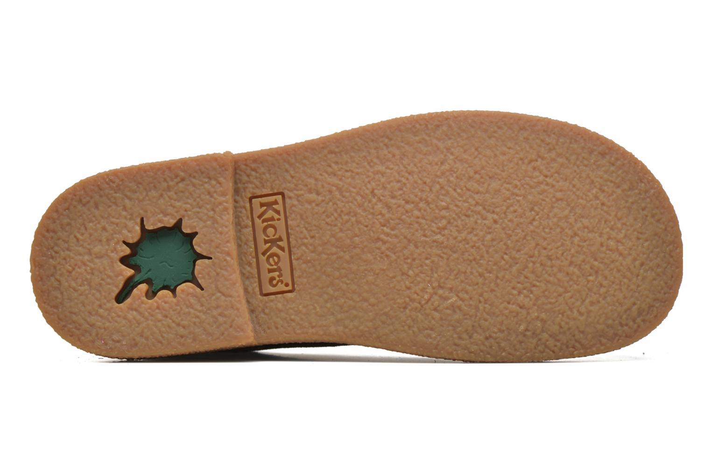 Chaussures à lacets Kickers Legendoknew Marron vue haut