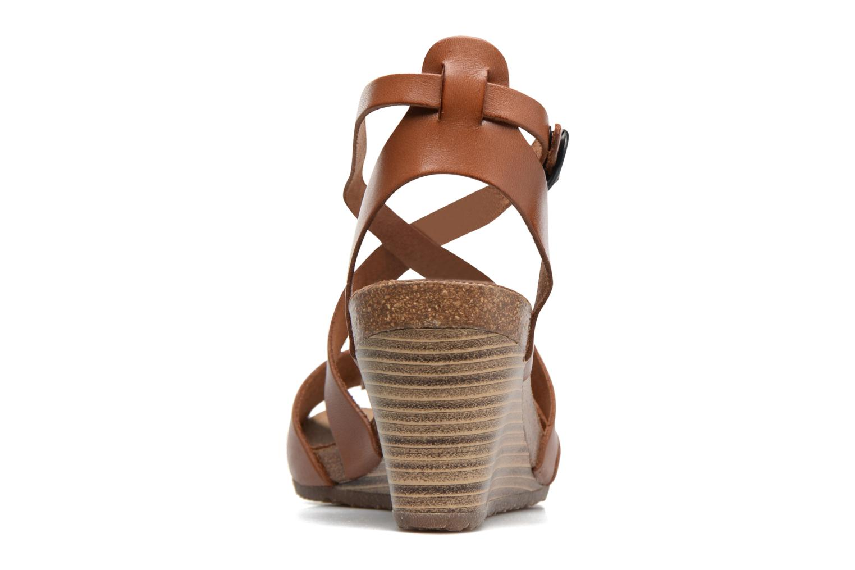 Sandales et nu-pieds Kickers Spagnol Marron vue droite