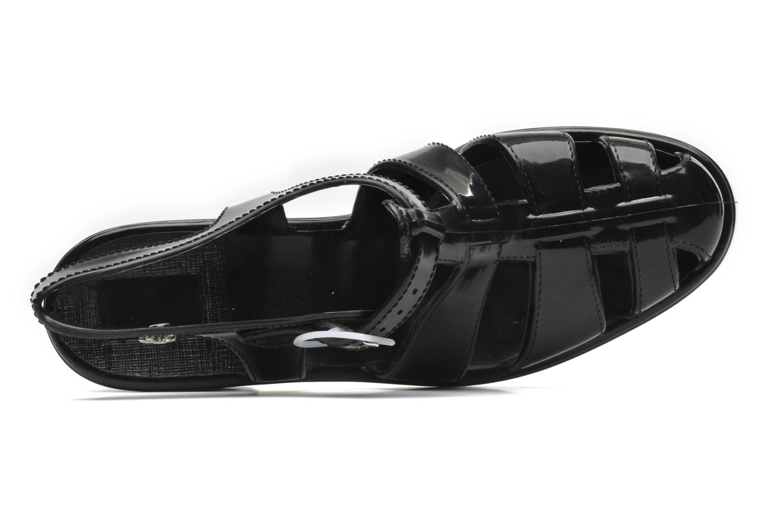 Sandals Méduse Nikita Black view from the left
