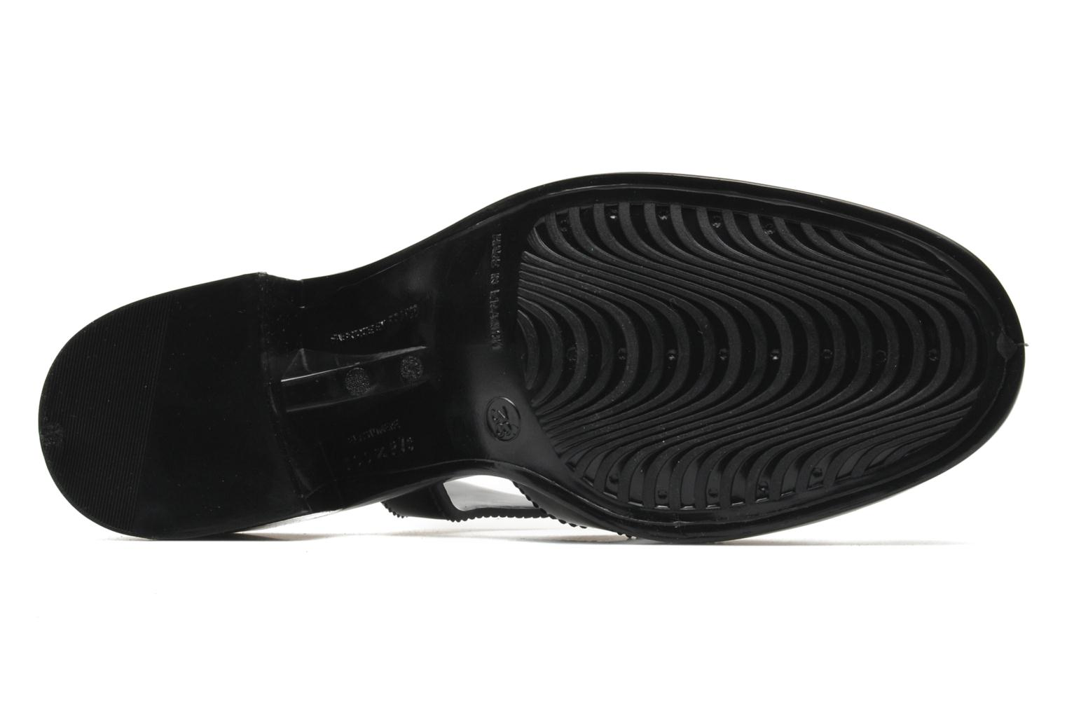 Sandals Méduse Nikita Black view from above