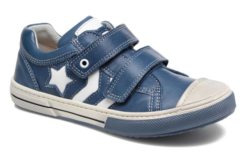 Chuck Vit blue + white