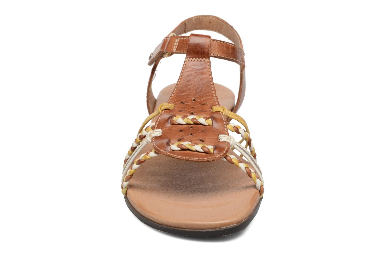 Sandales et nu-pieds Pikolinos Alcudia 816-0509 Marron vue portées chaussures