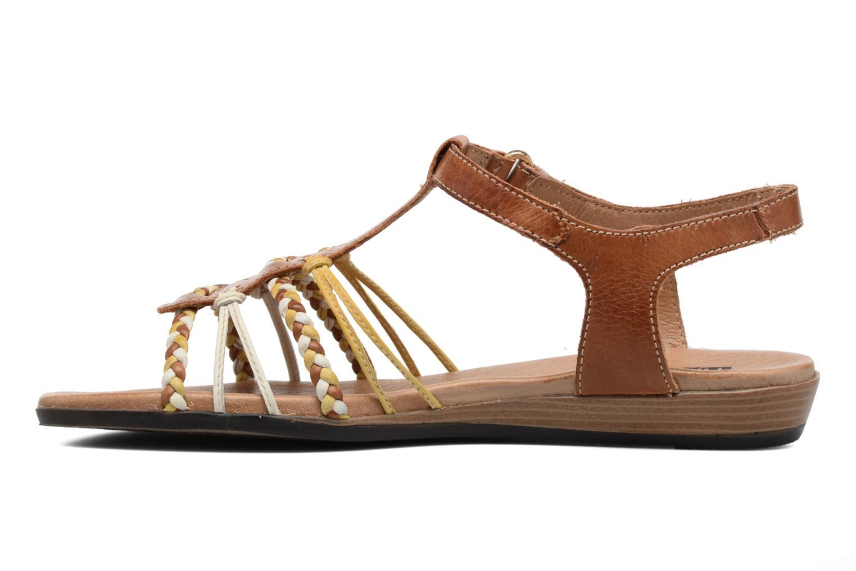 Sandales et nu-pieds Pikolinos Alcudia 816-0509 Marron vue face
