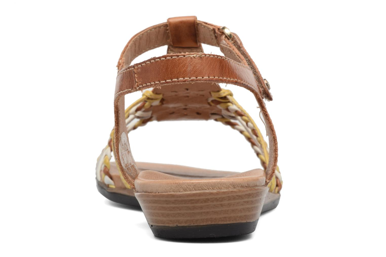 Sandales et nu-pieds Pikolinos Alcudia 816-0509 Marron vue droite