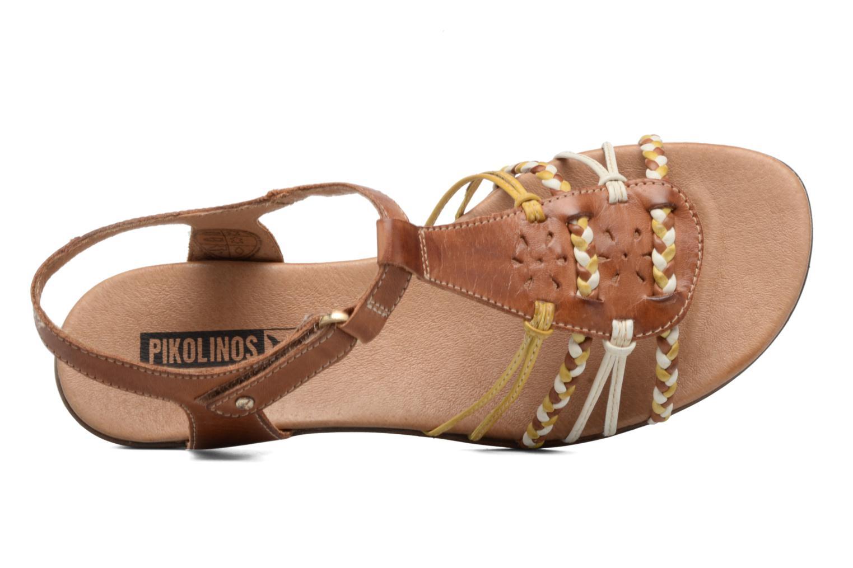 Sandales et nu-pieds Pikolinos Alcudia 816-0509 Marron vue gauche