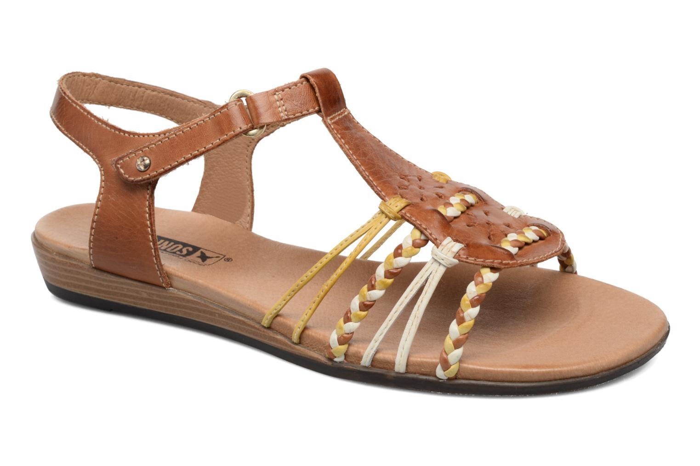 Sandales et nu-pieds Pikolinos Alcudia 816-0509 Marron vue détail/paire