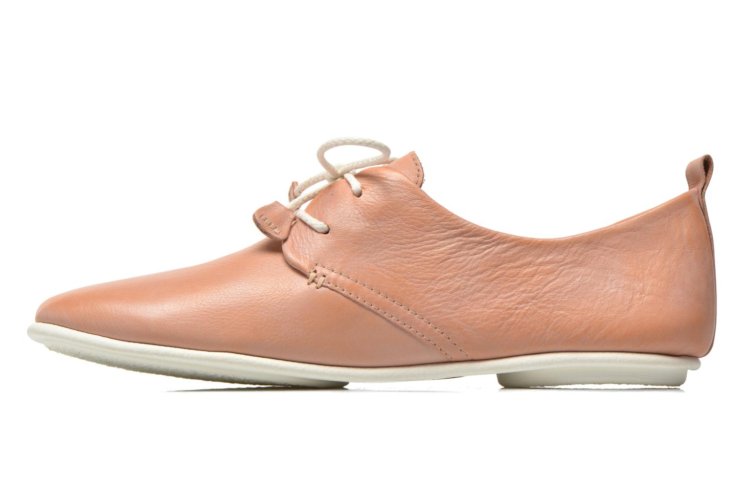 Lace-up shoes Pikolinos Calabria 917-7123KR Pink front view